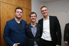 Ziegner (Marketingfabrik), Weiner (GSV), Gabner (Marketingfabrik)