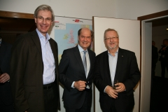 Stiftner (BVL), Rohracher (GSV), Grohs (T-Systems)   c Granzer-Schrödl / WIM