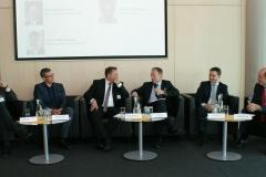 Podium: Weinberger (Nutzfahrzeugimporteure), Hentschel (VW), Müller-Belau (Shell), Losch (BMNT), Rothbart (AVL), Rohracher (GSV)